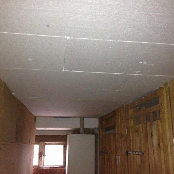 Kellerdeckendämmung am Mehrfamilienhaus