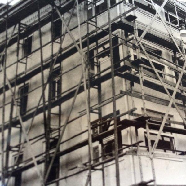 Gerüstbau Referenzen vor 1970