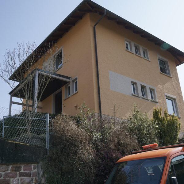 Fassadenrenovierung in Würm