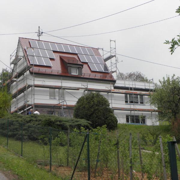 Privat Einfamilienhaus Ispringen WDVS