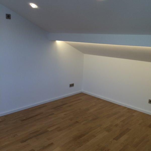 Renovierung Dachgeschoss