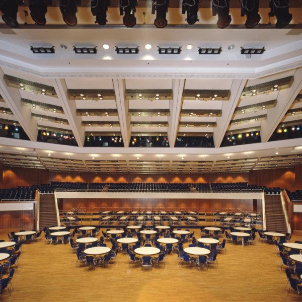 Congresscentrum Pforzheim Hallendecken